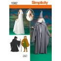 Simplicity Snitmønstre Kostumer - Simplicity snitmønster, stort udvalg af Kostumer og udklædnings mønstre Mønsterne er på engelsk,med dansk ordforklaring